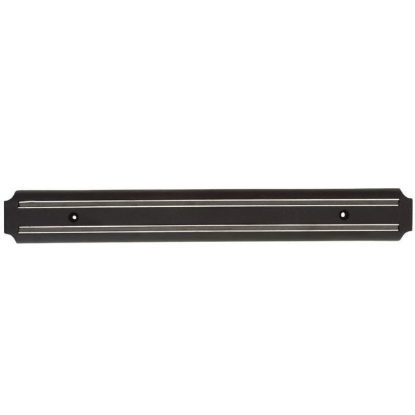 Magnet Messerleiste 38cm Schwarz