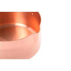 Kupferkasserolle mit Ausgießer Ø 16 cm