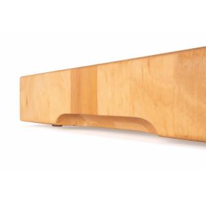 Hackblock Buche Stirnholz geölt 60 x 40 x 7 cm