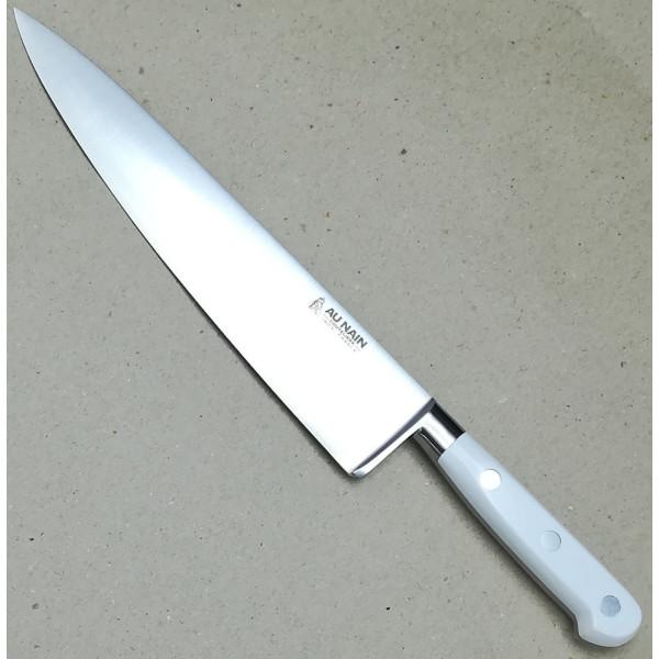 """Au Nain geschmiedete Messer """"Ideal"""" Weiß Chefmesser 25cm"""