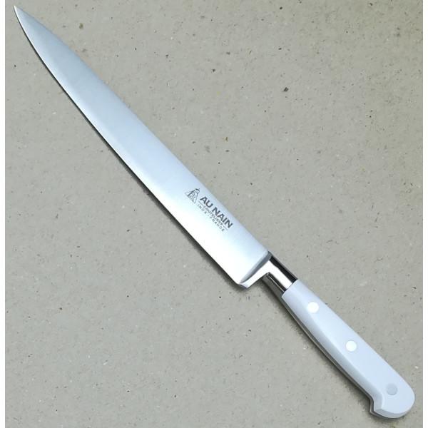 """Au Nain geschmiedete Messer """"Ideal"""" Weiß Fleischmesser 20cm"""
