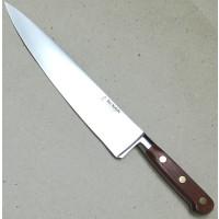 "Au Nain geschmiedete Messer ""Ideal"" Holz Chefmesser 25cm"