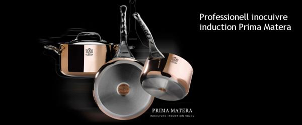 Prima Matera Kupfertöpfe von de Buyer
